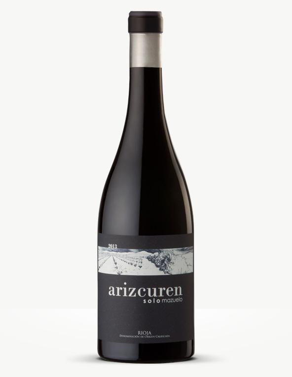 Botella de solomazuelo de Arizcuren Bodega y Viñedos