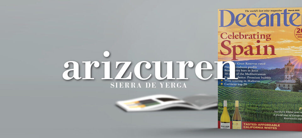 revista decanter articulo mazuelo arizcuren